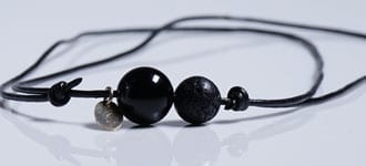 Minimalist jewelry for men in stone - necklaces / bracelets